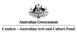 Catalyst - Australian Arts and Culture Fund